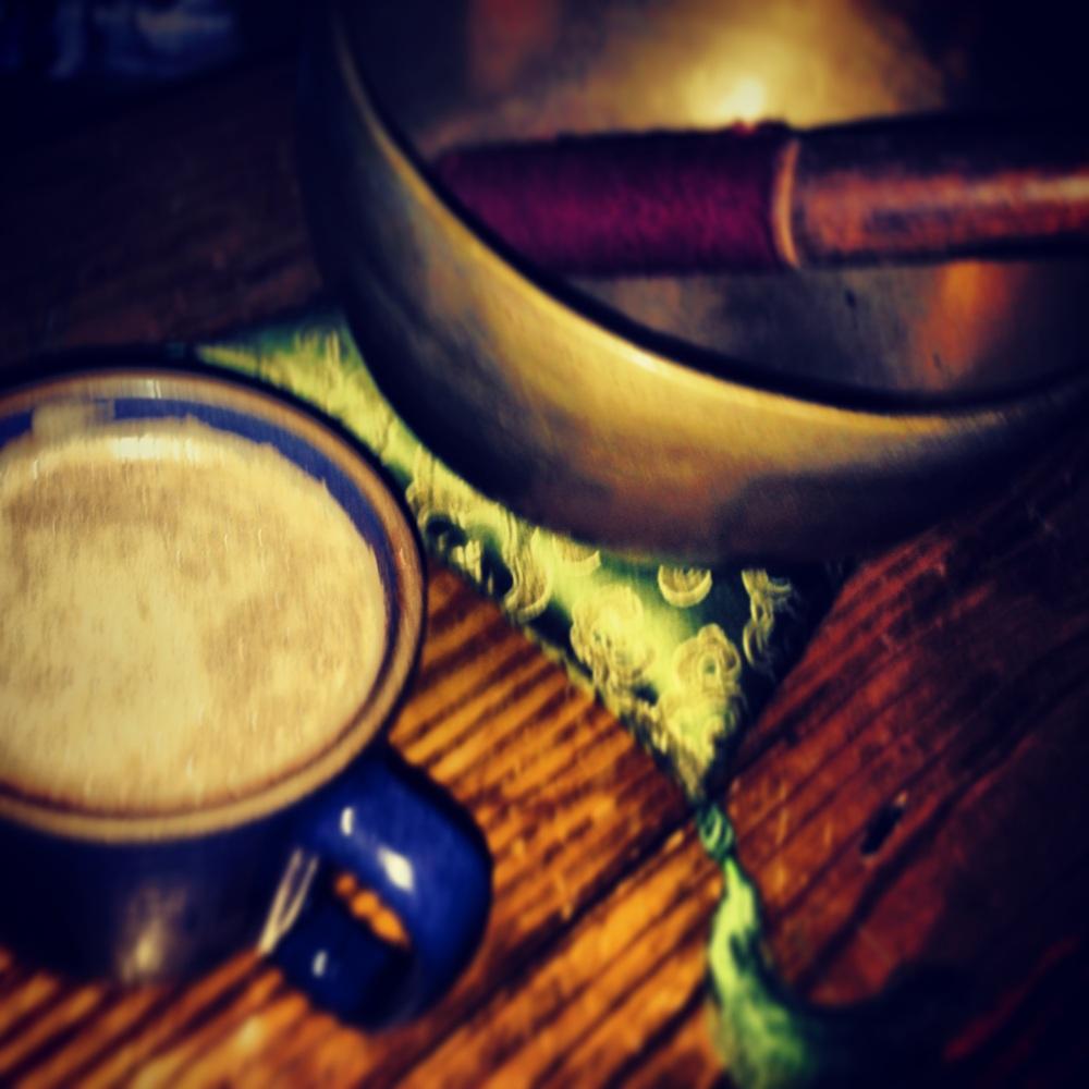Early morning prayer and meditation