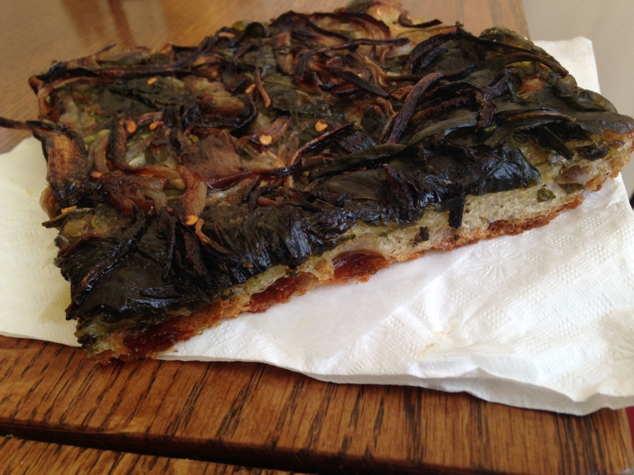 Sourdough Flatbread with Kale
