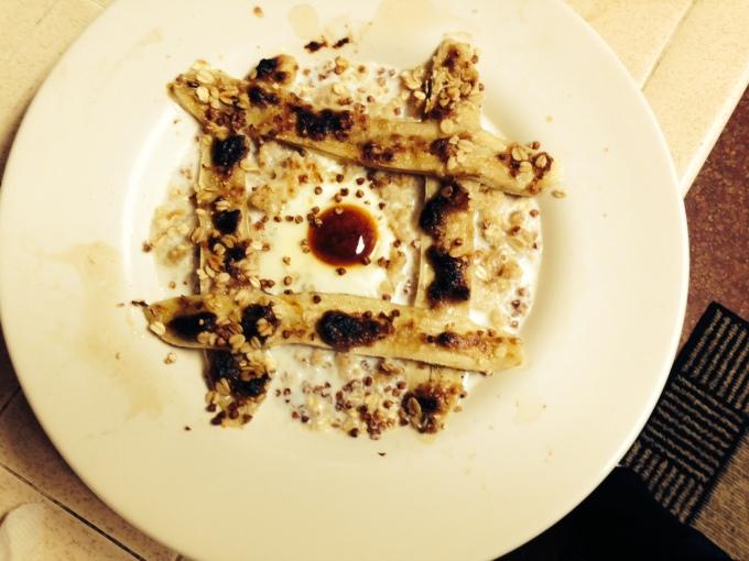 Finished Dish with Buckwheaties
