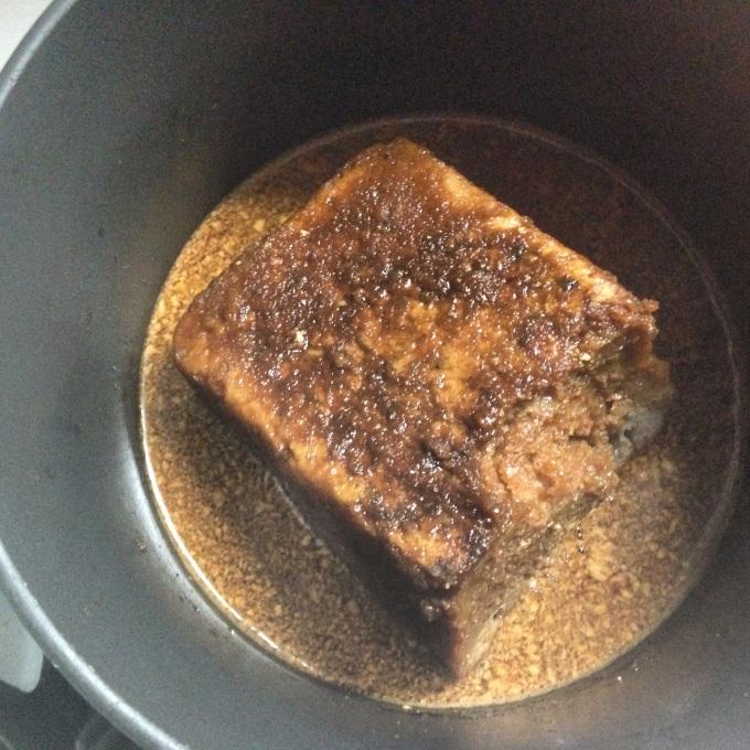 Sourdough Bread Cooking Gently in Ale