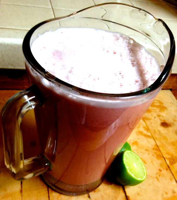 A Frothy but Thin Spicy-Sweet Smoothie