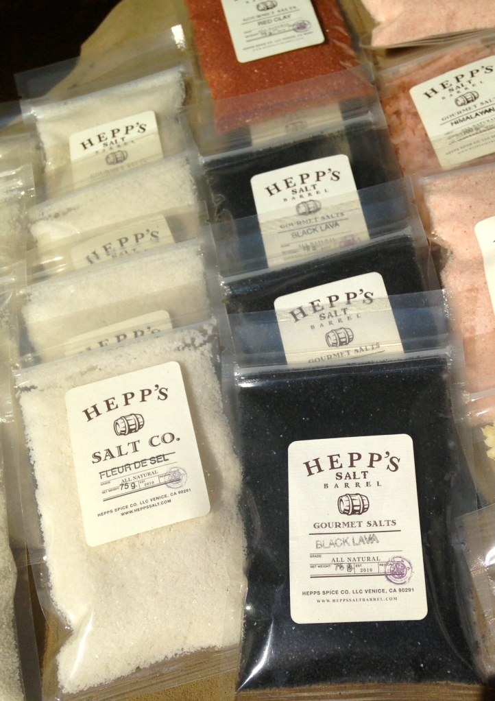 More Salts:  Black Lava; Aussie Flake; Fleur de Sel