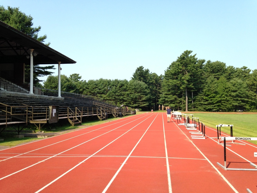 Beautiful Bowdoin Track, Brunswick, Maine