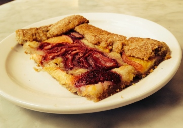 Strawberry Crostata at The Mill