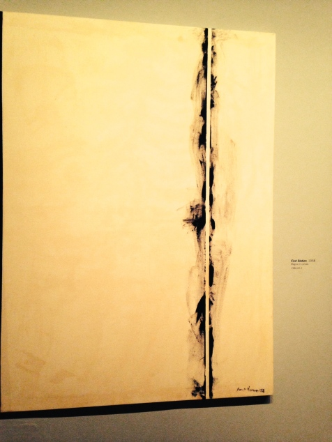 "dY: Barnett Newman's ""Stations of the Cross"" (one in a series)"