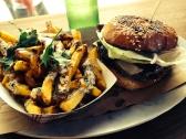 Fries and Burger at 4505