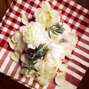 White Rose Petals for Jam
