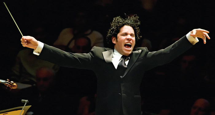 Gustavo Dudamel, Conductor of the Los Angeles Philharmonic (Photo Courtesy of Earthtones)