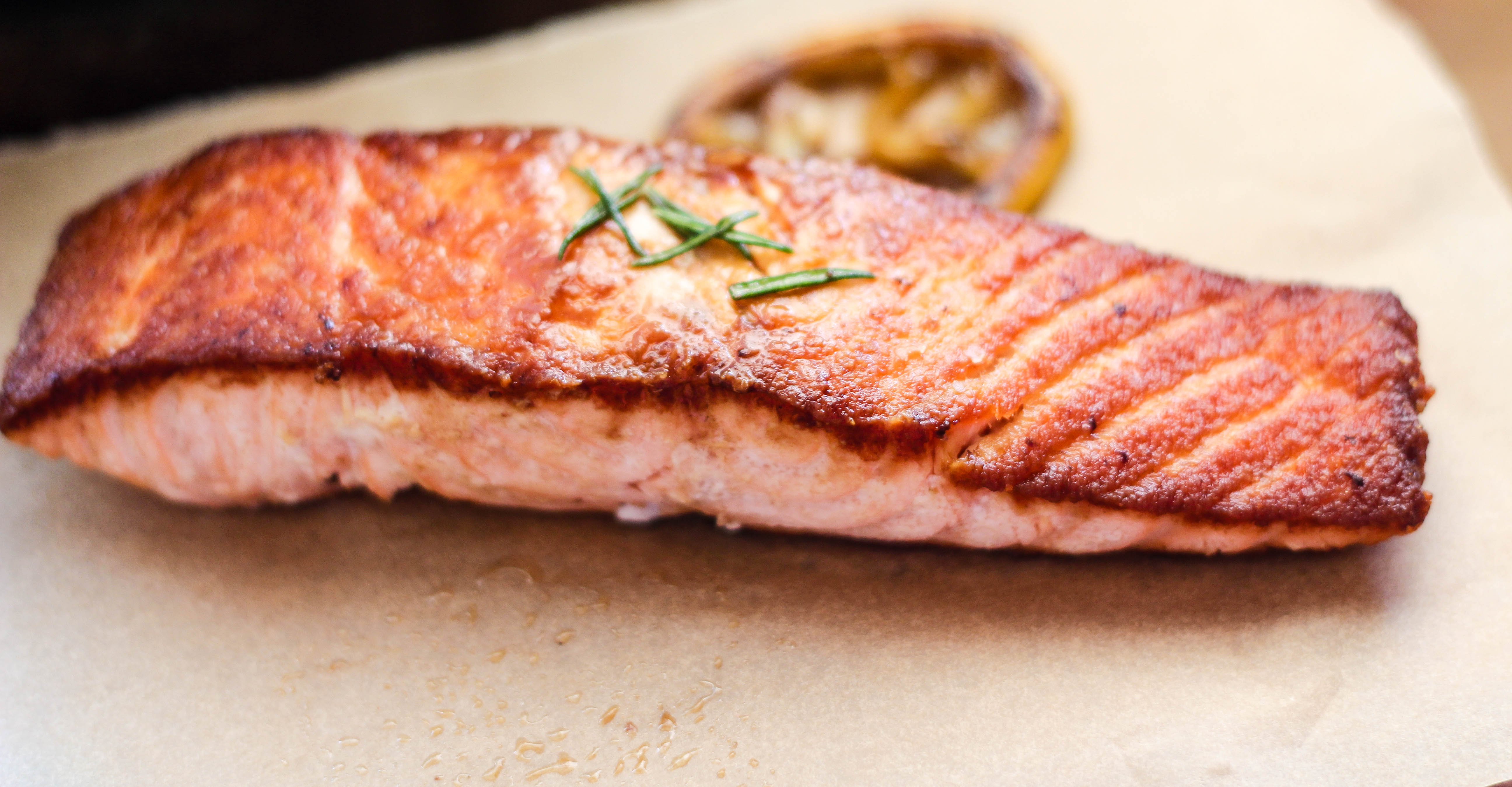 Miso glazed fish from easy gourmet birgerbird for Gourmet fish recipes